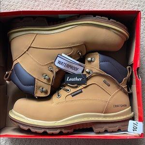 Craftsman Steel Toe, WATERPROOF, leather work boot